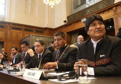 Presidente Morales: Retorno al mar es inevitable. Bolivia cierra alegatos
