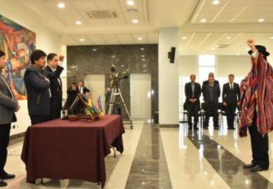 Diego Pary asume como nuevo Canciller