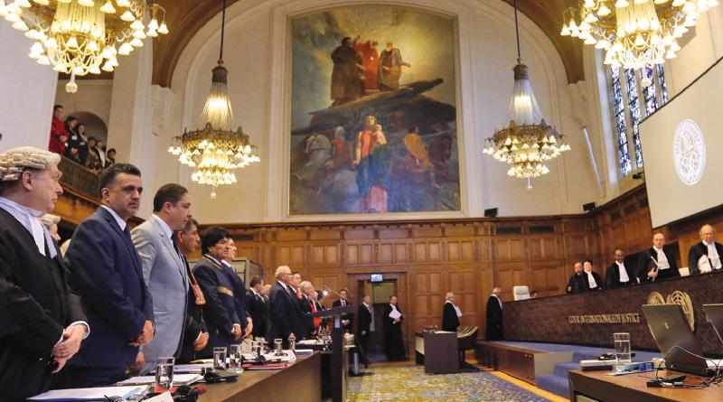 Corte Internacional de Justicia emite su fallo por Demanda Marítima