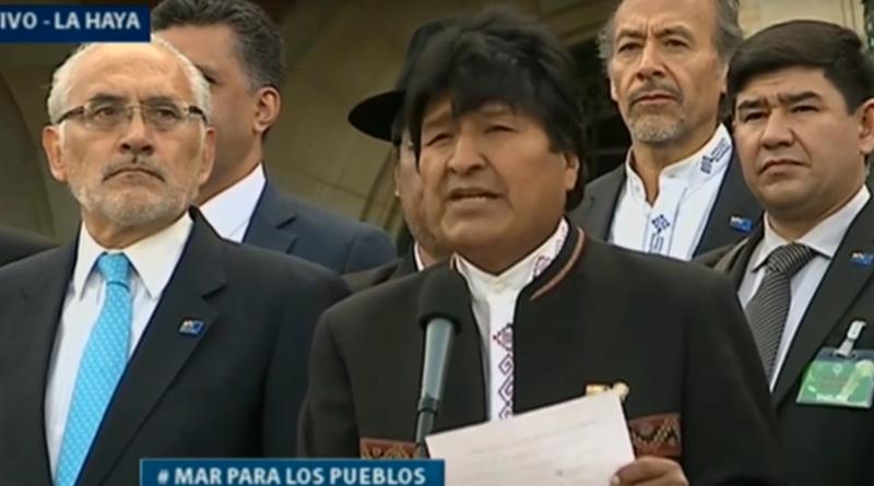Evo Morales: Bolivia nunca va a renunciar a continuar con el diálogo