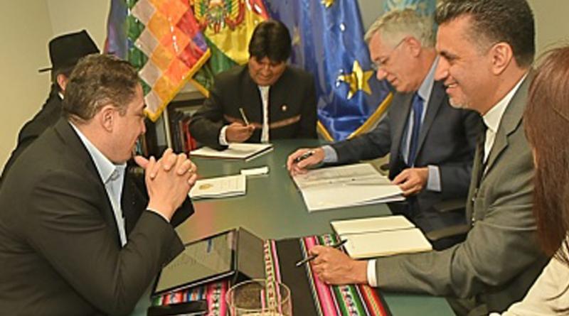 Equipo jurídico boliviano se reúne en Nueva York