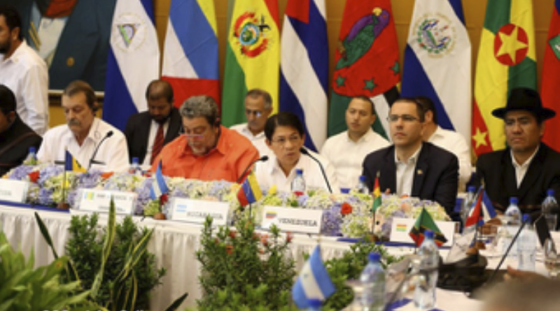 ALBA apoya Demanda Marítima Boliviana