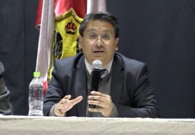 Secretario de DIREMAR explica en Potosí la Contrademanda de Bolivia en el caso Silala