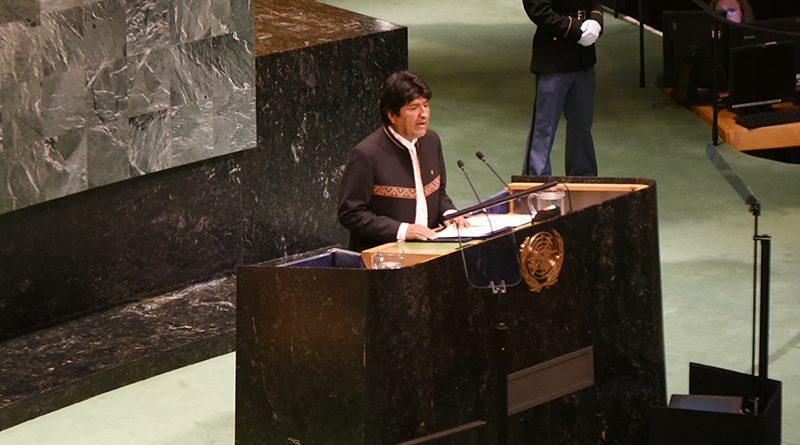 Morales afirma que la ONU debe velar por el cumplimiento integral del fallo de la CIJ